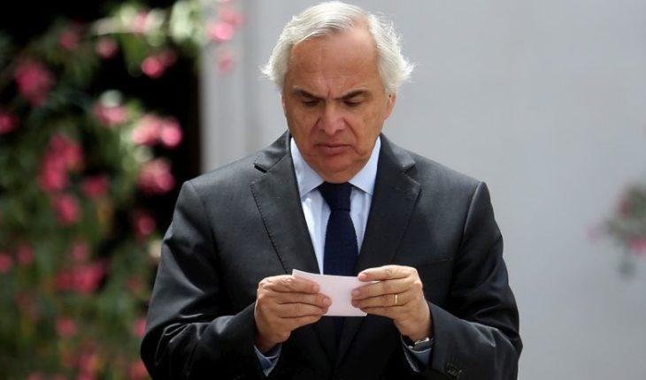 """Ministro del Interior y subsecretario Castillo: """"No tiene ninguna responsabilidad penal"""""""