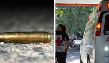 Mujer es víctima de una bala perdida
