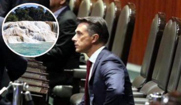 Sergio Mayer confunde cascadas de Agua Azul en Chiapas con cataratas