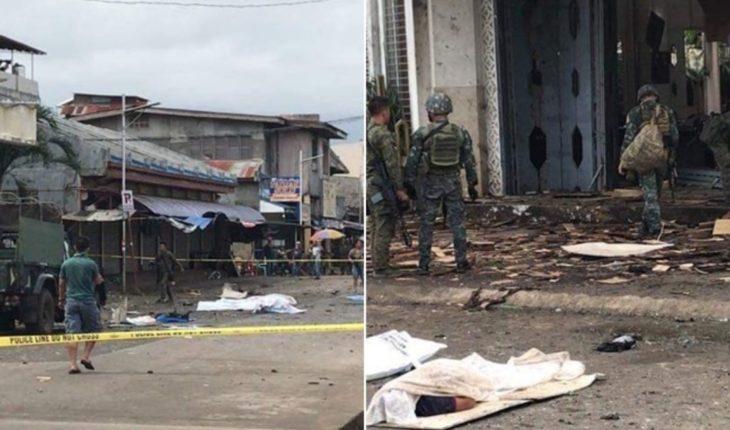 Sube a 19 el número de muertos en atentado a catedral filipina