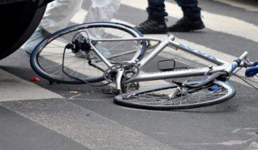 Transporte público atropella a ciclista en Tlalpan