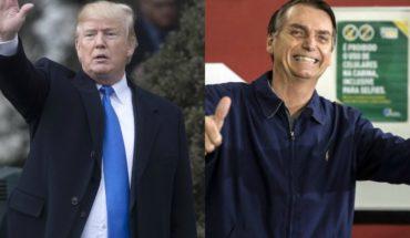 """Trump a Bolsonaro: """"¡Estados Unidos está contigo!"""""""