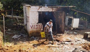 Un herido en explosión de fábrica de pirotecnia en la localidad de Tanaxuri