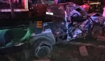 Un joven fallecido en choque de camioneta sobre la carretera Morelia