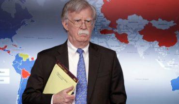 Venezuela: ¿Qué decía el anotador del consejero de Seguridad de EEUU?