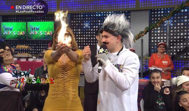 Anel arde en Las Posadas | Es Show