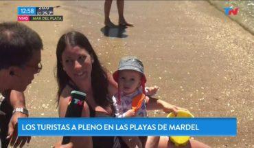 El verano en Mar del Plata: las playas a pleno