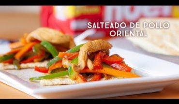 Salteado de pollo oriental con Saltín Noel | Caracol TV
