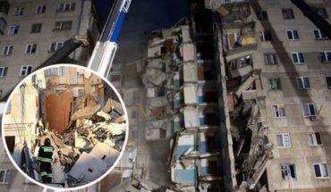 Video. Bellos momentos del rescate a bebé bajo los escombros en Rusia