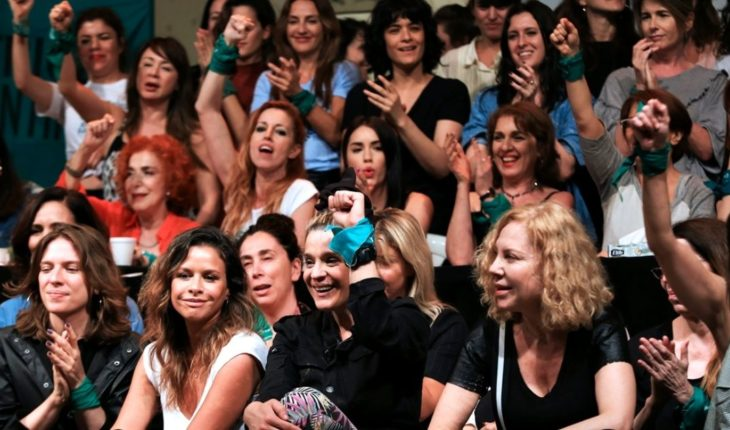 """Actresses Argentinas, against accusations of """"selectivity"""" in their actions"""
