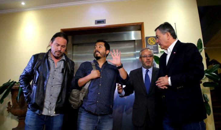 Arrested in Venezuela TVN press team returned to Chile