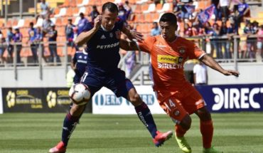 """Cobreloa won in the """"Orange afternoon"""" at the University of Chile"""