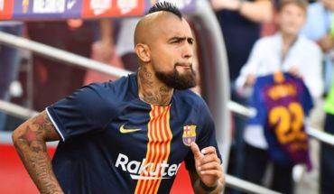 Copa del Rey: FC Barcelona's Arturo Vidal out comeback before the Sevilla FC Barcelona