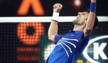 "Djokovic was crowned as the ""winningest"" of the Australia open after crushing in the final to Nadal"
