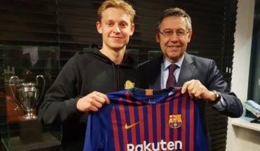 FC Barcelona hires Jong Frenkie for the next five seasons