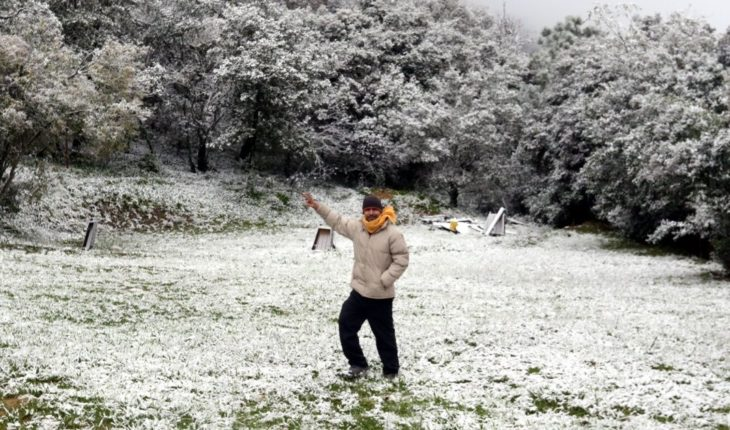 Mass of cold air stop Frost and rainfall in these States