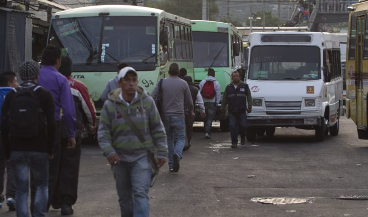 Police CDMX and State of Mexico begin operating public transport