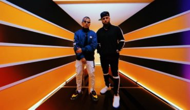 """Rauw Alejandro premiered """"That give"""" together to Nicky Jam"""