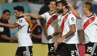 River returned to triumph with a win against Godoy Cruz