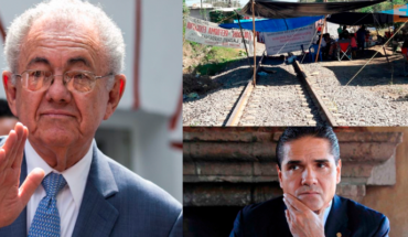 Secretary of communications and transport said, railways release corresponds to the Government of Michoacan