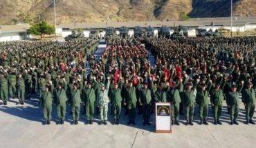 Strong support from Venezuelan military to Maduro