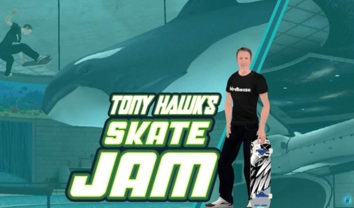 Tony Hawk returns by surprise with a new game of skate