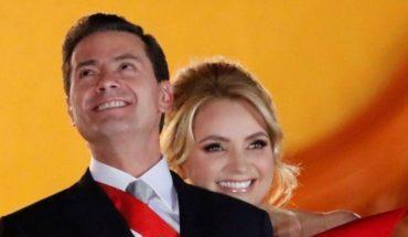 Angélica Rivera fue propuesta en un catálogo a Peña Nieto