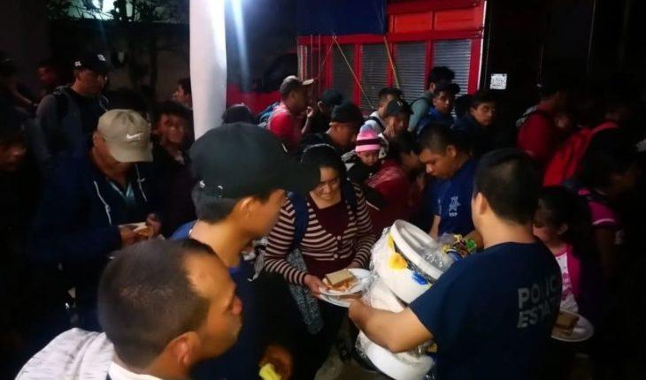Aseguran a 239 migrantes en Veracruz