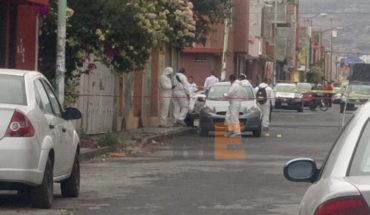 Asesinan a balazos a un automovilista en colonia Villas del Real de Morelia
