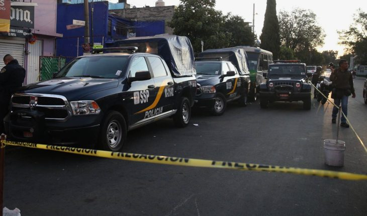 Balacera en Iztapalapa deja como saldo tres personas muertas
