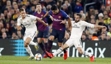Barcelona y Real Madrid igualaron 1 a 1 por la ida de la semifinal
