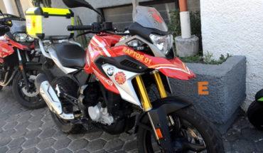 Bomberos de Morelia ya cuentan con socorrista a bordo de una motocicleta