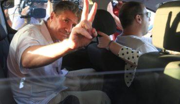 Boudou llegó a la cárcel de Ezeiza para cumplir con su condena