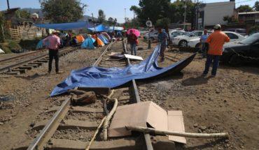 CNTE libera todas las vías del tren en Michoacán