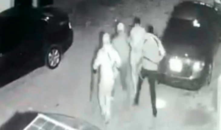 """Captan en un vídeo a un comando que """"levantó"""" a un hombre en Pátzcuaro y luego lo mató en Tzintzuntzan"""