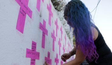 Protesta contra feminicidios en Cuernavaca