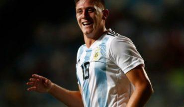 Con tres goles del Lewandowski cordobés, Argentina goleó a Venezuela y se acerca al mundial Sub 20