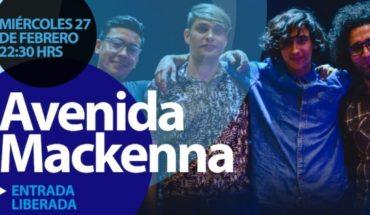 Concierto gratuito de banda Avenida Mackenna en Bar Magnolia, Chillán