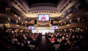 Angela Merkel, canciller Federal de Alemania, durante su discurso en la Conferencia de Seguridad de Múnich (16/2/2019). Foto: MSC / Kuhlmann (CC BY 3.0). Blog Elcano