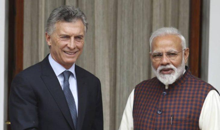 Conocé la agenda de Mauricio Macri en la India