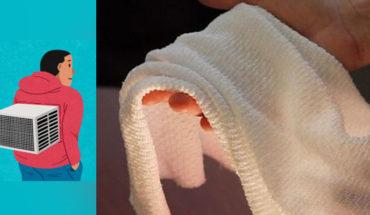 Crean un tejido inteligente que da frío o calor según cambie el ambiente