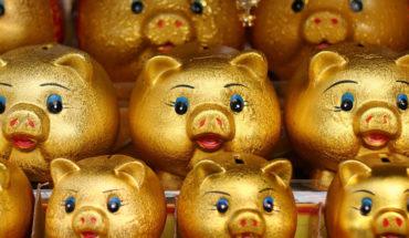 Cuando China se enfría, el mundo se estremece. Huchas doradas para celebrar el año nuevo lunar chino del cerdo. Foto: bebouchard (CC BY-NC 2.0). Blog Elcano