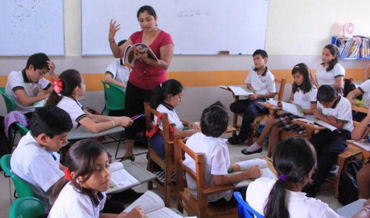 Del 1 al 15 de febrero son las preinscripciones de educación básica