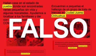 Detención de supuestos tratantes de niñas en Puebla es falsa