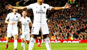 Di María y Mbappé ponen al PSG cerca de cuartos tras triunfo ante Manchester United