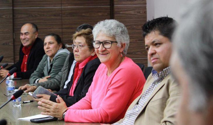 Director general del ISSSTE reconoce como sindicato al SNADETISSSTE en encuentro de trabajo