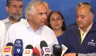 """El enfado de Chadwick con Ulloa en plena conferencia de prensa: """"No me digai lo que tengo que hacer"""""""