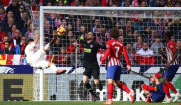 El golazo de Casemiro contra el Atlético de Madrid