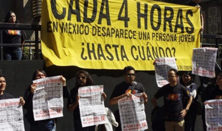 El presidente López Obrador pone en marcha un sistema nacional de búsqueda de personas desaparecidas
