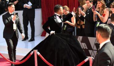 El vestido negro del actor Billy Porter en los Oscar 2019
